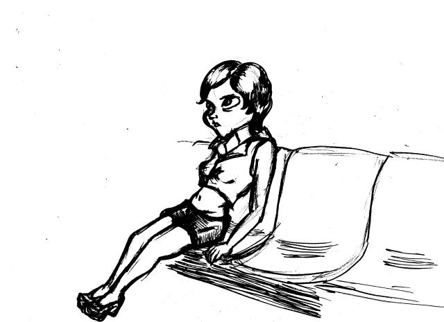 Nina på tunnelbana 2