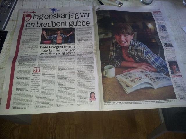 Frias resor intervju i Aftonbladet