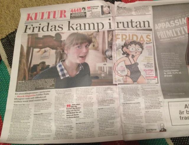 Fridas resor fridas kamp tidningsintervju
