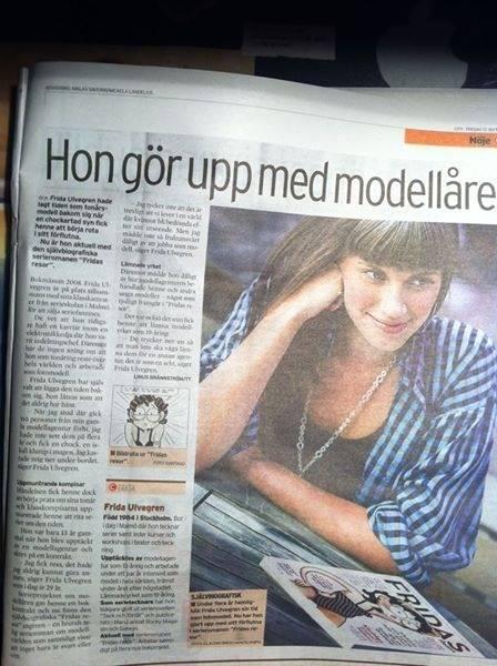 Fridas resor intervju tidning
