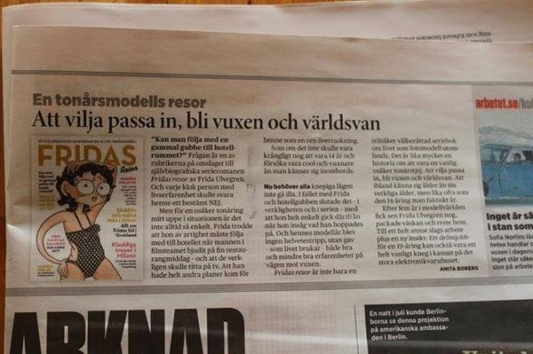 Fridas resor recension tidning