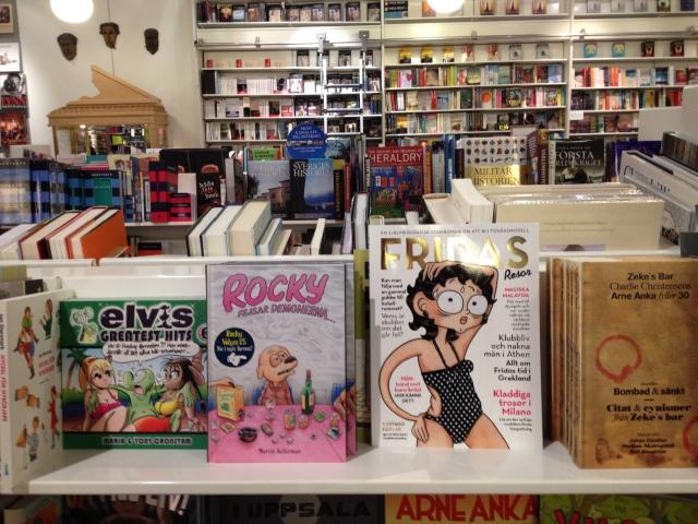 Fridas resor skyltad i butik