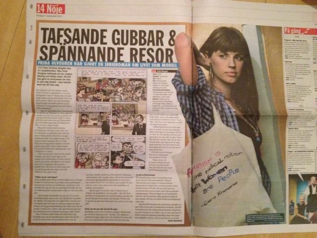 Fridas resor tidning ETC felvänd!